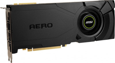 MSI PCI-Ex GeForce RTX 2080 Super Aero 8GB GDDR6 (256bit) (1815/15500) (1 x HDMI, 3 x DisplayPort) (RTX 2080 SUPER AERO)