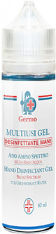 Антисептик для рук Germo Multiusi Gel 60 мл (8009110029934)