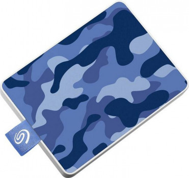 """Seagate One Touch SSD 500GB 2.5"""" USB 3.0 Camo Blue (STJE500406) External"""