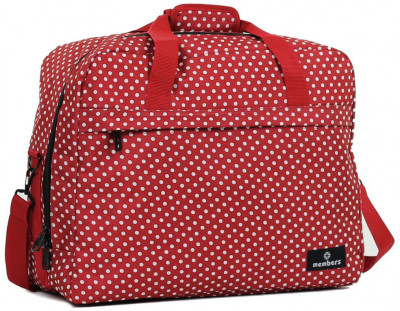 Сумка дорожня Members Essential On-Board Travel Bag 40 Red Polka (927839)
