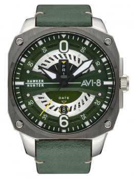 Годинник AVI-8 AV-4057-03 Hawker Hunter Herren 43mm 5ATM