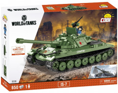 Конструктор Cobi World Of Tanks ИС-7 650 деталей (COBI-3038)