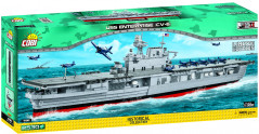 Конструктор Cobi World Of Warships Авианосец Энтерпрайз CV-6 (Limited Edition) 2530 деталей (COBI-4816)
