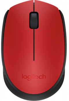 МЫШЬ LOGITECH WIRELESS MOUSE M171 RED