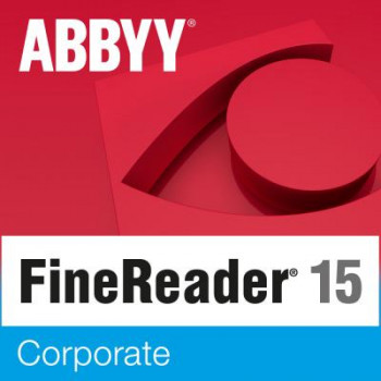 ПО для роботи з текстом ABBYY FineReader 15 Corporate (ESD) for personal use (FR15CW-FMPL-X)