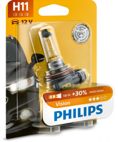 Автолампа Philips H11 12V 55W (PS 12362PR B1)