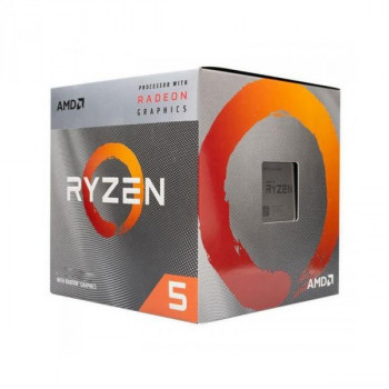 Процессор AMD AM4 Ryzen 5 3400G 3.7GHz 4MB 65W YD3400C5FHBOX