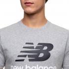 Футболка New Balance Essentials Stacked Logo MT01575AG XXL Серая (193362688365) - изображение 5