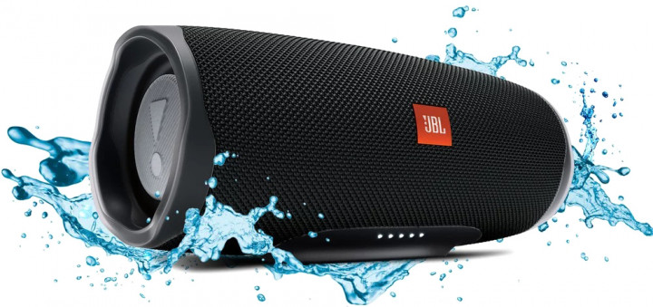 Акустическая система JBL Charge 4 Midnight Black (JBLCHARGE4BLK), б/у - изображение 1