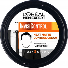 Крем для стайлинга L'Oreal Paris Men Expert InvisiControl средней фиксации 150 мл (3600523767069)