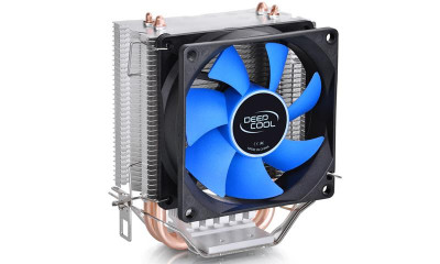 Кулер процесорний Deepcool Ice Edge Mini FS v2.0, Intel: 1151/1150/1155/775, AMD: AM4/AM3+/AM3/AM2+/AM2/FM2+/FM2/FM1, 119х112х75 мм, 3-pin