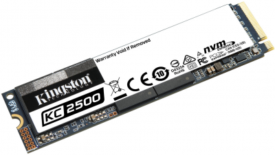Kingston KC2500 500GB NVMe M.2 2280 PCIe 3.0 x4 3D NAND TLC (SKC2500M8/500G)