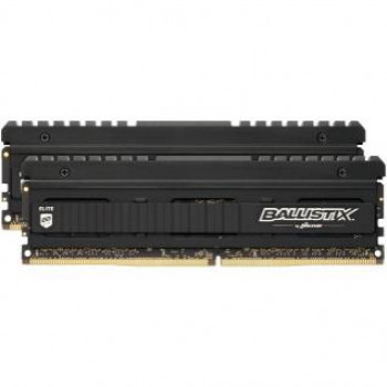 Модуль пам'яті для комп'ютера DDR4 16GB (2x8GB) 3600 MHz Ballistix Elite Black MICRON (BLE2K8G4D36BEEAK)