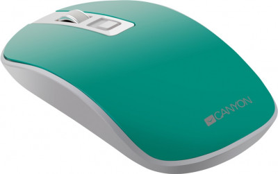 Миша Canyon CNS-CMSW18A Wireless White-Green