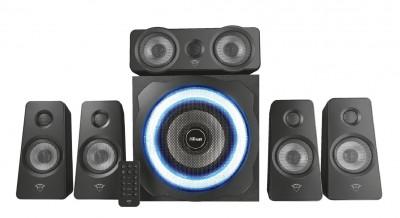 Домашний кинотеатр 5.1 Trust GXT 658 Tytan Surround Speaker System Black