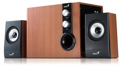 Компьютерные колонки Genius 2.1 SP-HF1250B II Wood