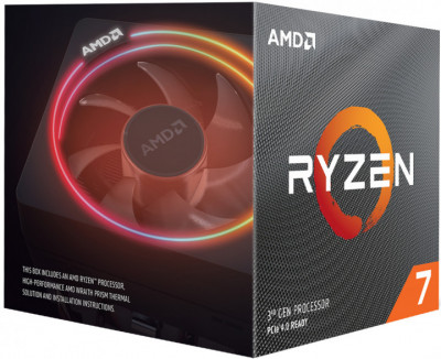 Процессор Процессор AMD Ryzen 7 3800X 3.9GHz/32MB (100-100000025BOX) sAM4 BOX