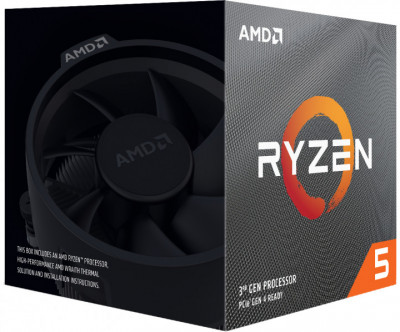 Процесор AMD Ryzen 5 3600X 3.8 GHz/32MB (100-100000022BOX) sAM4 BOX