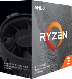 Процессор AMD Ryzen 3 3100 3.6GHz/16MB (100-100000284BOX) sAM4 BOX