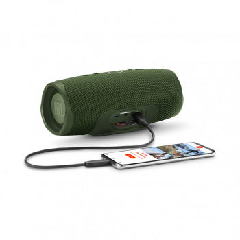 Колонка Original JBL Charge 4 Waterproof Green + Наушники T110BT