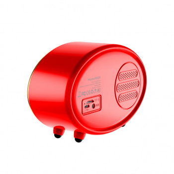 Колонка Bluetooth Hoco BS25 Time Retro 1200 mAh 5 Вт. Red (MB1660r)