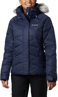 Пуховик Columbia Lay D Down II Jacket K0913472XS XS Темно-синий (0192660243986)