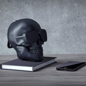 Акустична система Skull Wireless Bluetooth Speaker Black (TXT-042)