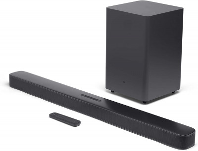 Колонка JBL BAR 2.1 Black (JBLBAR21BLKEP)