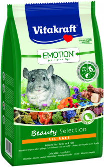 Корм для шиншилл Vitakraft Emotion Beauty Selection All ages 600 г (4008239337580)