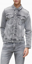 Джинсова куртка Calvin Klein Jeans J30J314665-1BZ0 S Light Grey (8719852390017) - зображення 1