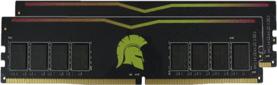 Оперативна пам'ять Exceleram DDR4-2400 16384MB PC4-19200 (Kit of 2x8192) Color Yellow (E47060AD)