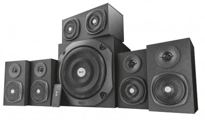Акустическая система Trust Vigor 5.1 Surround Speaker System for pc Black (TR22236)