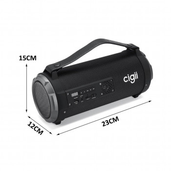 Портативна Колонка Bluetooth Cigii K2201 Black