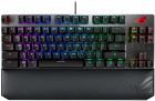 Клавіатура дротова Asus ROG Strix Scope TKL Deluxe Cherry MX Silent Red RGB USB (90MP00N5-BKRA00)