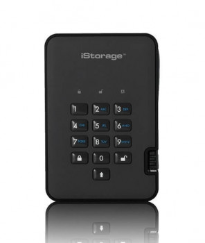 Внешний диск iStorage diskAshur2 1TB Black