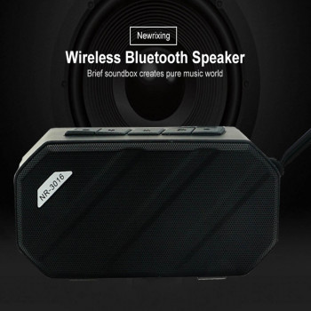 Bluetooth Speaker NewRixing NR3016 Black (28589)