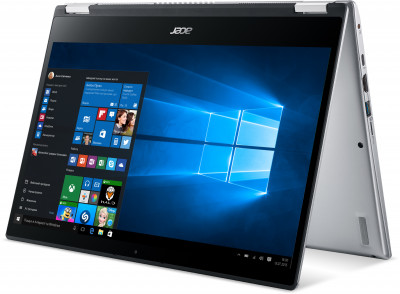 Ноутбук Acer Spin 3 SP314-54N-57JG (NX.HQ7EU.00C) Pure Silver