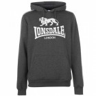 Худі Lonsdale 2S OTH CharcoalM/White, S (42) (10345924)