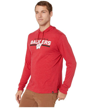 Толстовка 47 College Wisconsin Badgers End Line Club Red (10668903)