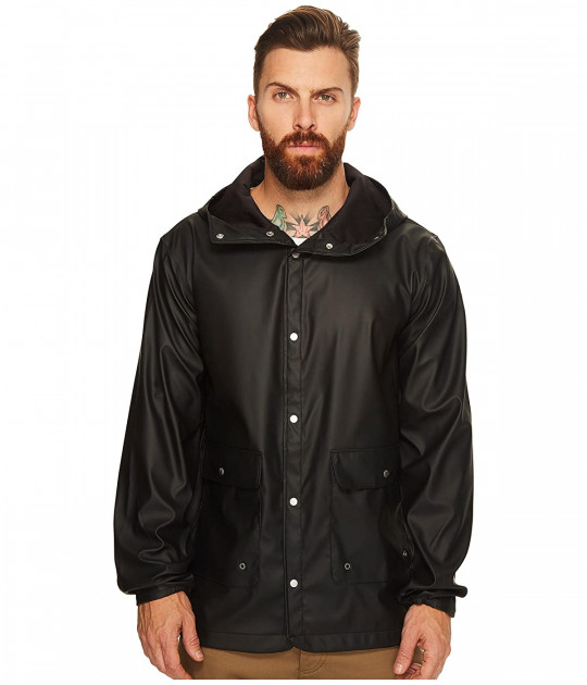 Дождевик Herschel Supply Co. Forecast Parka Black, XL (48) (10702443) - изображение 1