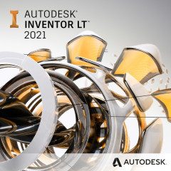 Autodesk Inventor LT 2021 Commercial New Single-user ELD 3-Year Subscription (электронная лицензия) (529M1-WW9193-T743)