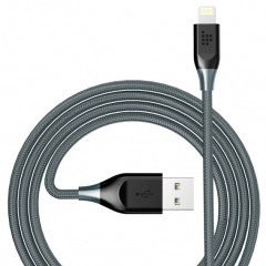 Tronsmart 19AWG Double Braided Nylon Lightning Cable 1,2 м