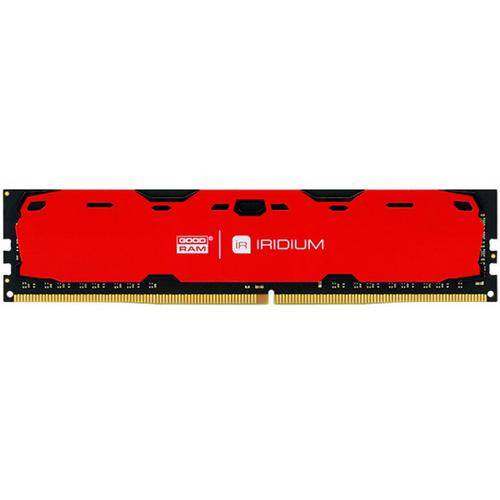 GOODRAM DDR4 2400MHz 8GB Iridium Red (IR-R2400D464L15S/8G)