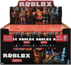 Коллекционная игровая фигурка Roblox Jazwares Mystery Figures Safety Orange Assortment (S6 ROB0189) (191726003885)