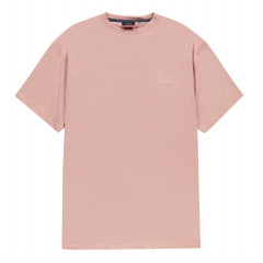 Футболка Plus Size Crew Neck T Shirt Mens 3XL Wide Dusty Pink (5257835)