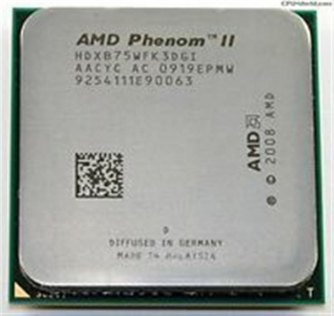 Процесор AMD Phenom II X3 B75 (Socket AM3) Tray (HDXB75WFK3DGI) з розбирання