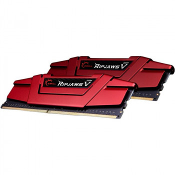 Модуль памяти DDR4 2x16GB/2666 G.Skill Ripjaws V Red (F4-2666C19D-32GVR)