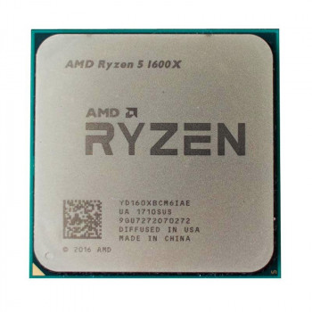 Процессор AMD Ryzen 5 1600X 3.6-4.0 GHz (YD160XBCM6IAE) AM4 TRAY