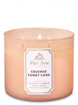 Свічка ароматизована Bath and Body Works Crushed Candy Cane Scented Candle