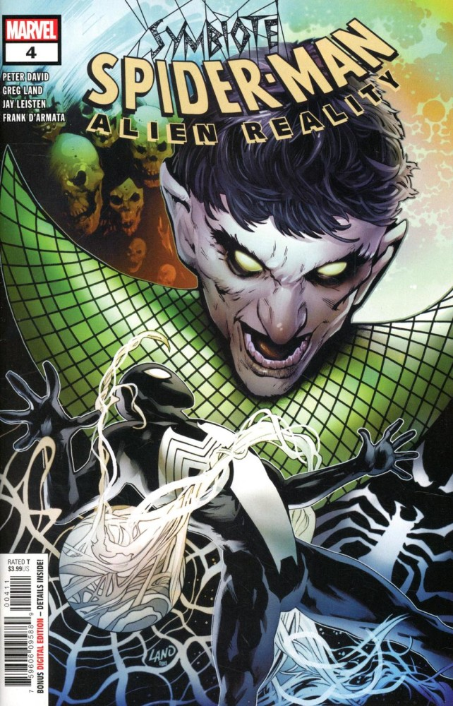 Marvel / Symbiote Spider-Man Alien Reality #4 Cover A Regular Greg Land Cover